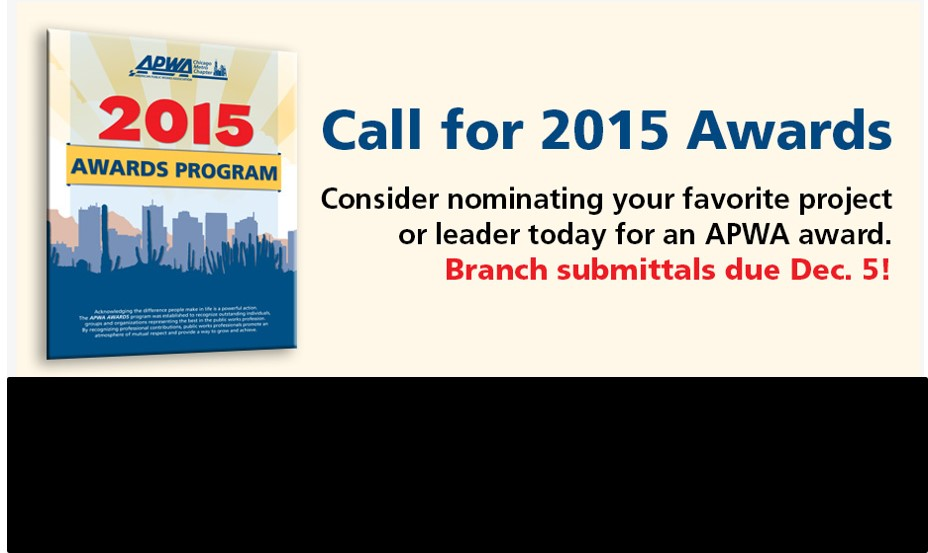 The call for 2015 Awards is here!