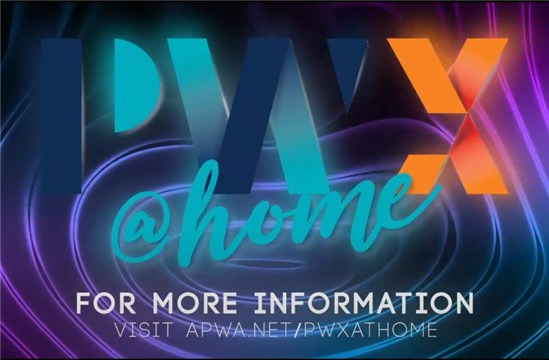 PWX@Home will feature over one hundred online education sessions, exhibits, and networking opportunities presented to you, by topic, throughout 2020-2021.