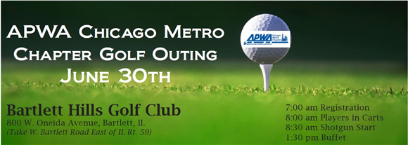Sign up today for the Chapter Golf Outing!